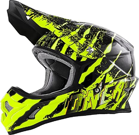 0623-434 - Oneal 3 Series Mercury Motocross Helmet L Black Hi-Vis: ONeal: Amazon.es: Deportes y aire libre