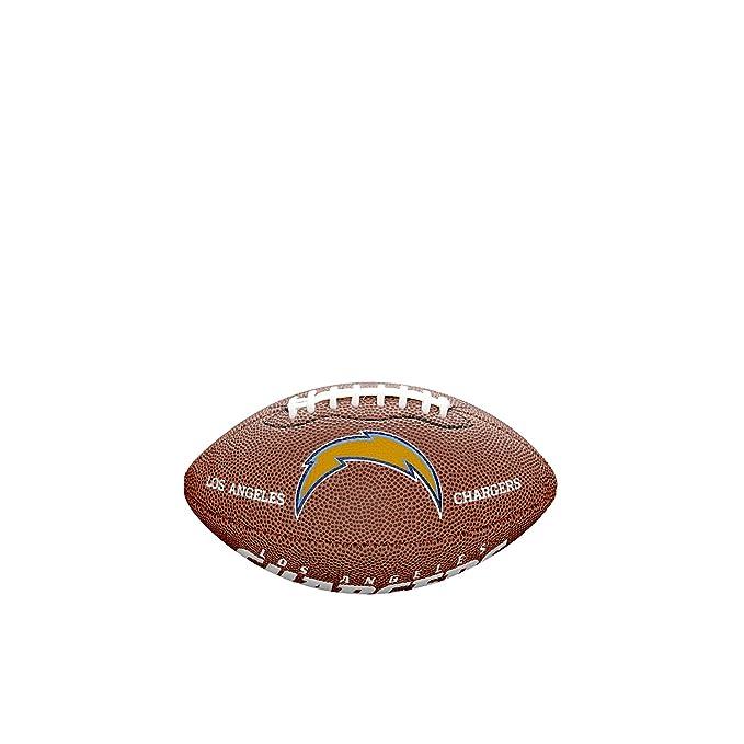 Amazon.com: Logotipo del equipo de NFL tamaño mini fútbol ...