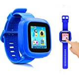 "Game smart watch for kids ,kids smartwatch with camera 1.5 ""touch screen 10 games children's watch Nice toys for kids as Gifts boys girls.(watch Blue)"