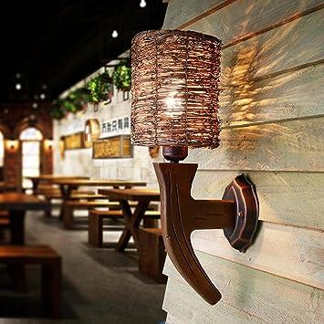 BIDENG Mur Lumière Vintage Moderne LED Décoration Personnalité Éclairage  E27 Chambre Bar Restaurants Café Salon Couloir