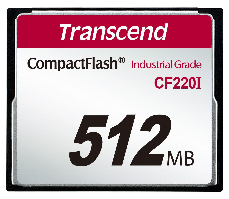 Transcend 512MB CF Memoria Flash 0,512 GB CompactFlash - Tarjeta ...