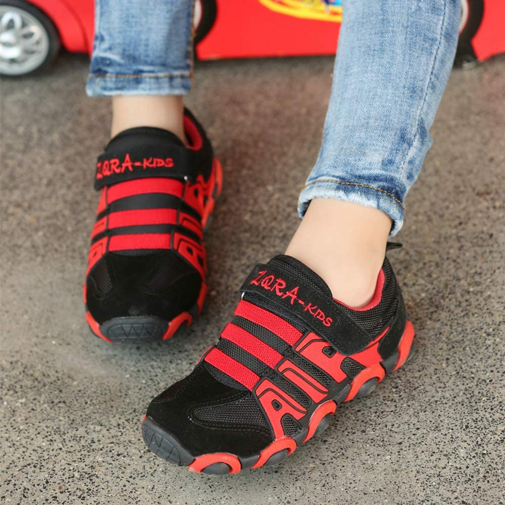 Toddler//Little Kid//Big Kid O.T.Sea Boys Girls Casual Strap Light Weight Sneakers Running Shoes