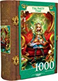 MasterPieces Tea Party Time - Alice in Wonderland 1000 Piece Book Box Jigsaw Puzzle