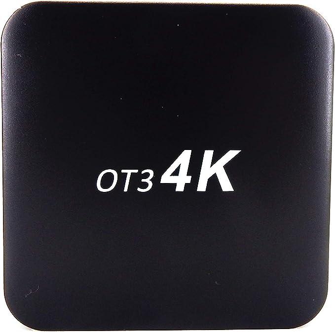 OSTARK OT3 4K, Android 7.1.2 Multi-Media Player,Amlogic S905W 2GB RAM 16 GB ROM, 4K 60fps H.265 1080P Full HD, Built-in WiFi Android Set Top Box: Amazon.es: Electrónica