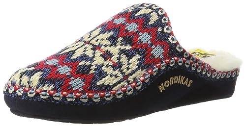 NORDIKAS Classic, Zapatillas de Estar por casa con talón Abierto para Mujer: Amazon.es: Zapatos y complementos