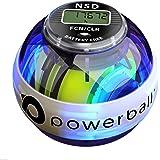 NSD Powerball New 280Hz Autostart Fusion Pro LED Colour Active Gyroscope Ball Arm Exerciser, Wrist & Hand Grip Strengthener - Rehabilitates Tendonitis Elbow, Wrist Pain & Finger Injury