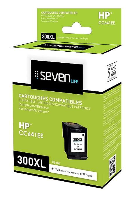 Seven Life SLH300BKXLX1 Cartucho de Tinta Negro - Cartucho ...