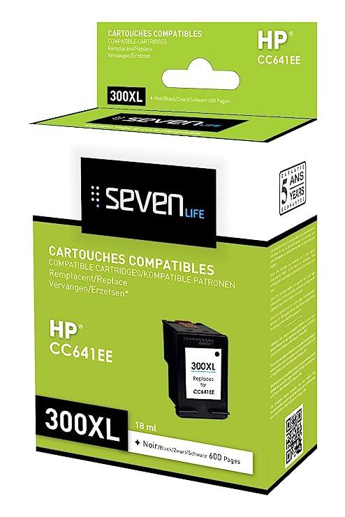 Seven Life SLH300BKXLX1 Cartucho de Tinta Negro - Cartucho de ...