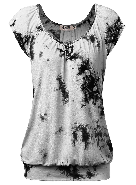 DJT-Camiseta Top para Mujer de Ocio