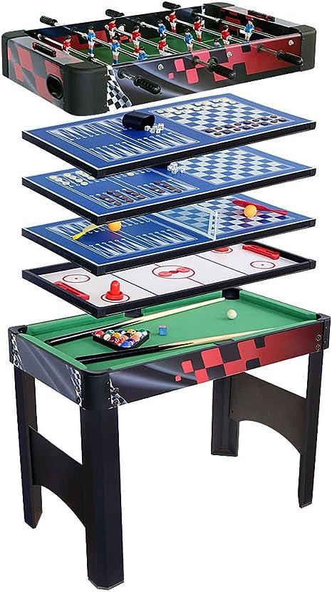 HLC 6 en 1 multifunknierte mesa mesa de juegos de fútbol/Tenis de ...