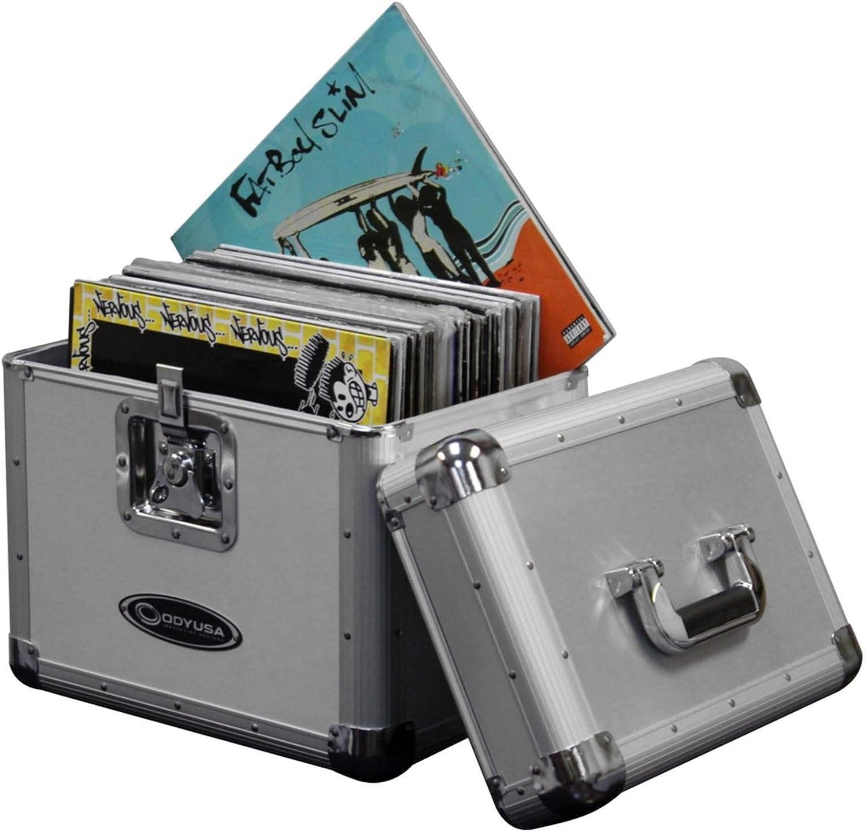 Amazon.com: Odyssey KLP1 - Maletín de vinilo para 70 LPs/12 ...