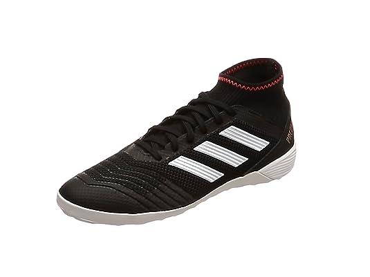 Adidas Predator, Fussballschuhe,Halle, Kunstrasen,Schwarz, Gr.7,5