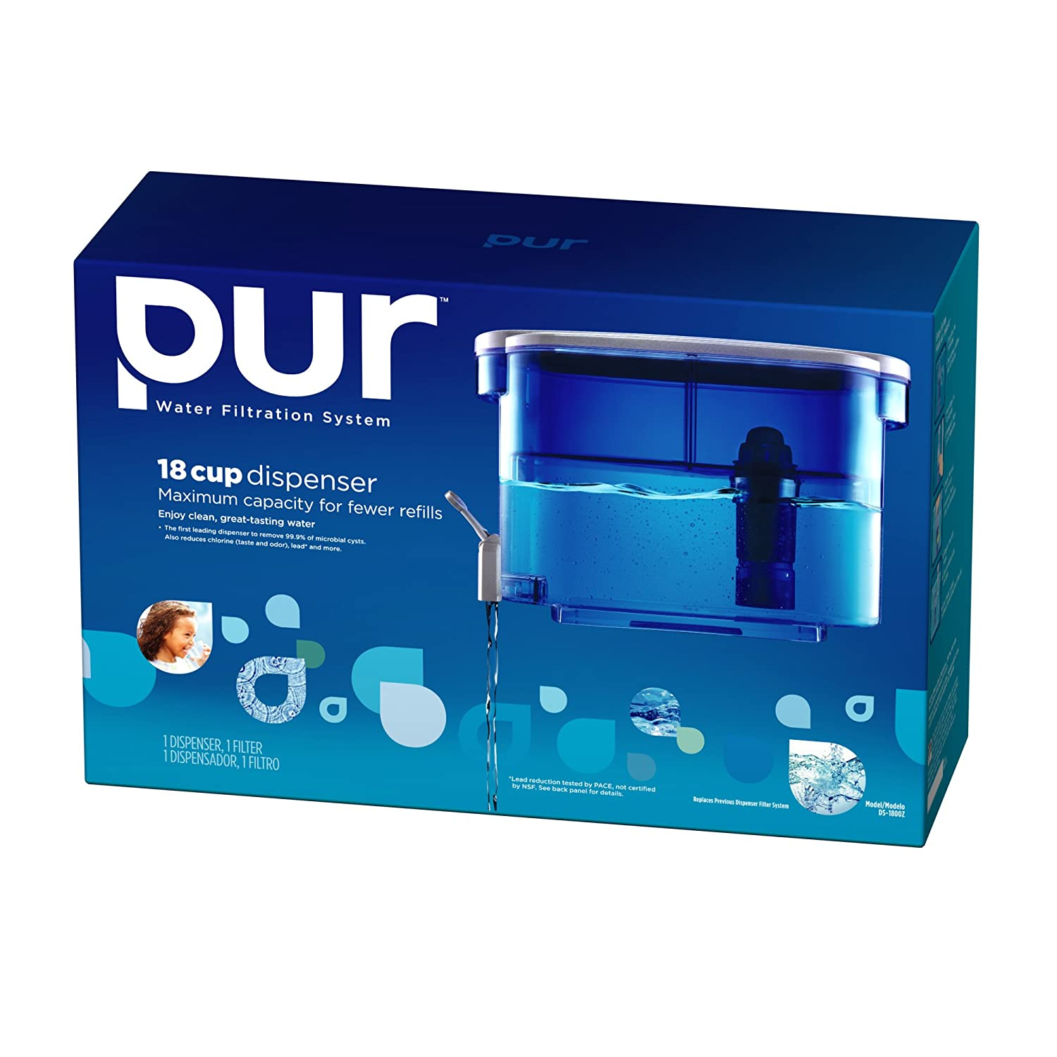 Pur Water Dispenser Filtration System and Filter