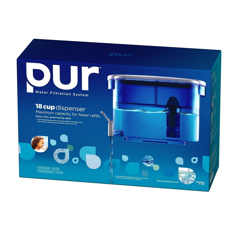 Water Filtration Dispenser Amazoncom Kaz Inc Pur 2 Stage Dispenser Ds 1800z Home Kitchen