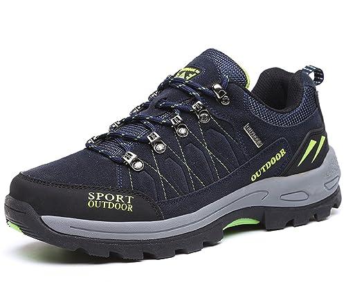 634c3962cc33 NEOKER Wanderschuhe Trekking Schuhe Herren Damen Sports Outdoor Hiking  Sneaker Armee Grün Blau Schwarz Grau 36-48