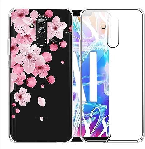 Originale Huawei Mate 20 Lite Custodia IN Silicone Trasparente Cover Protettiva