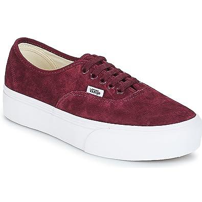728ef0a4fc63d Vans Shoes Woman Low Sneakers with Platform VN0A3AV8S3N Authentic Platform  Size 36 Bordeaux