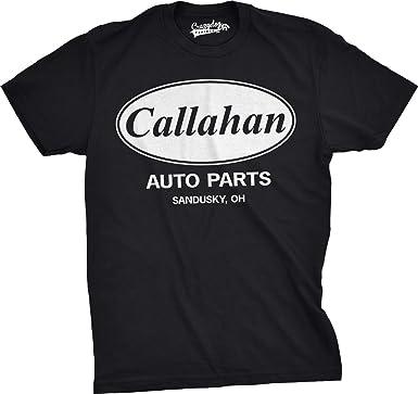 Amazon.com: Mens Callahan Auto T shirt Funny Shirts Cool Humor ...