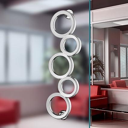 Olympic Rings Aluminium Alloy Chrome Finish Modern Entrance Entry