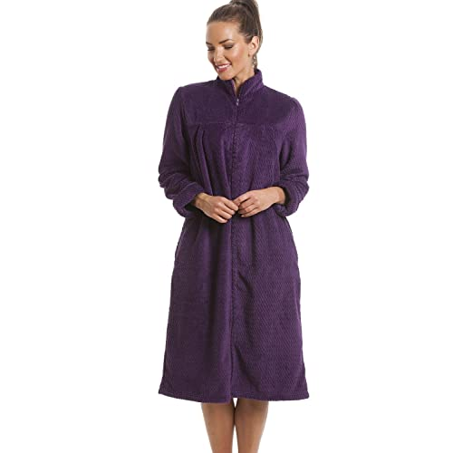 Dressing Gown with Zip: Amazon.co.uk