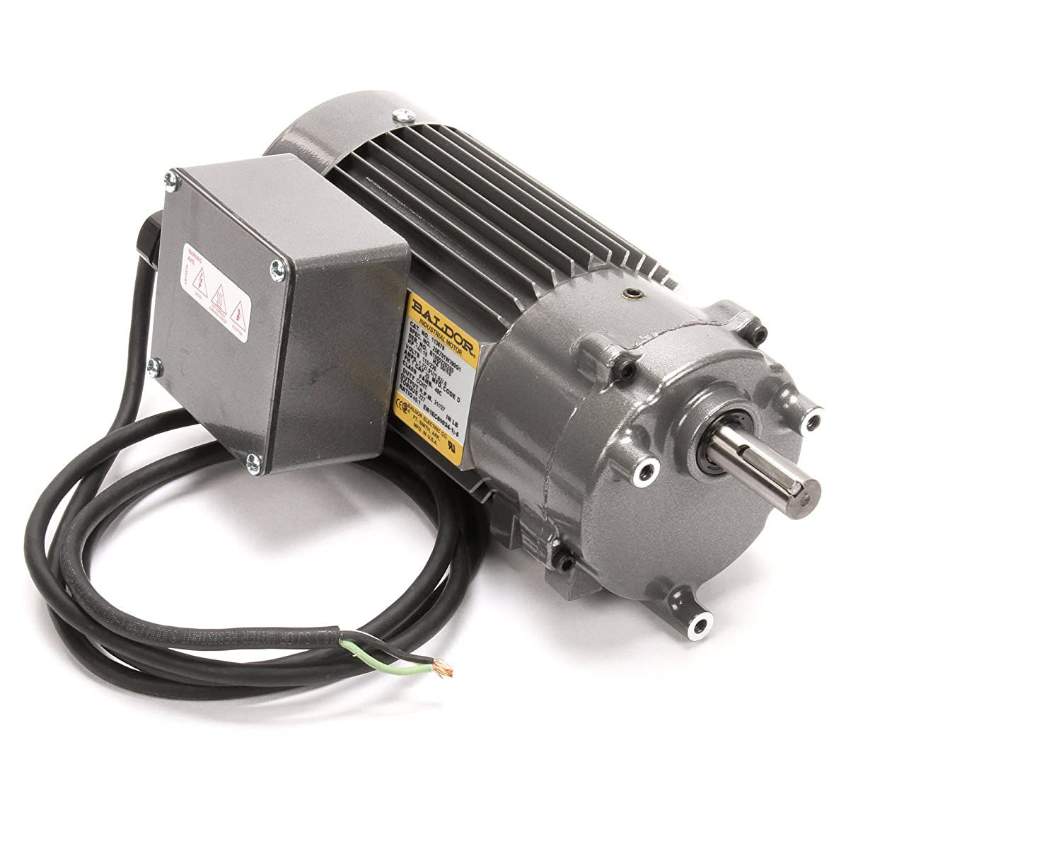 "Champion - Moyer Diebel 113679 Gear Motor, 1/6 hp, 115-240V/1Ph, 17"" Height, 11"" Width, 8"" Length 71NdirnT-ZL._SL1500_"