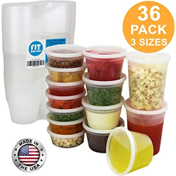 Fit Meal Prep Cups