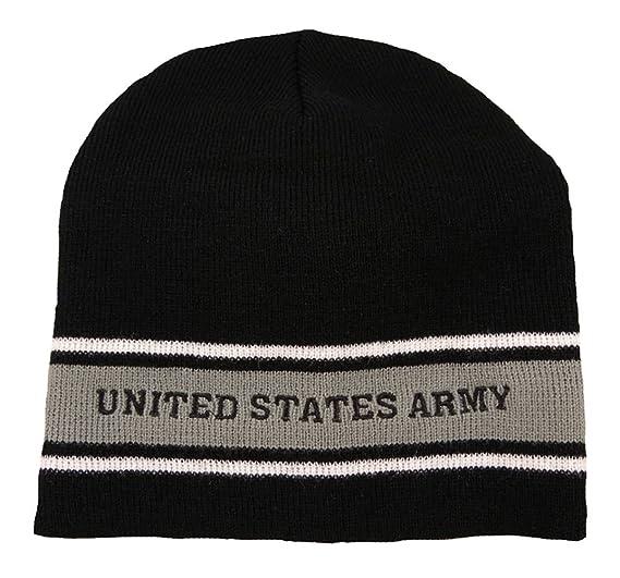Amazon.com  U.S. Army Striped Watch Cap Beanie b734adb0145