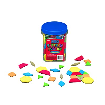 Lauri Foam Magnets - Pattern Blocks: Toys & Games