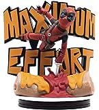 Quantum Mechanix - Figurine Marvel - Deadpool Maximum Effort Qfig Max 14cm - 0812095024362