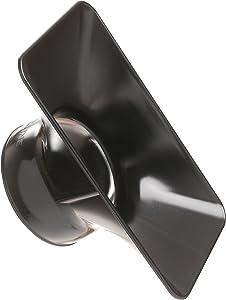 "Loc-Line Anti-Static Vacuum Hose Component, Black Acetal Copolymer, Rectangular Nozzle, 6"" Length x 3-1/2"" Width, 2-1/2"" Hose ID"