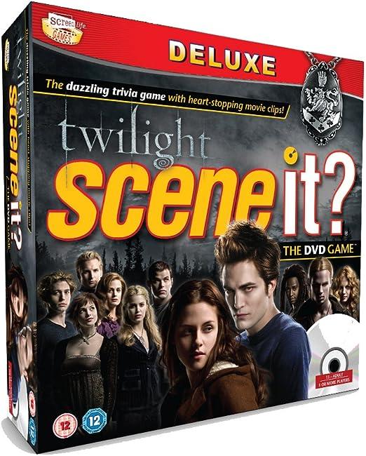 Paramount Digital Entertainment Twilight Scene It? - Juego de Mesa de Crepúsculo [Importado de Reino Unido] Juego de Mesa Interactivo con DVD: Amazon.es: Juguetes y juegos