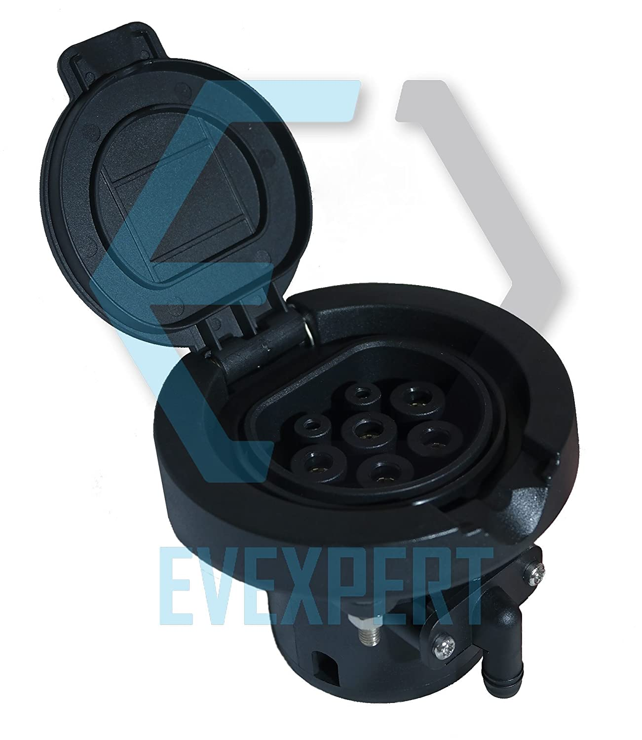 EV Charging Socket Type 2  Female (Charger Side) 32  A  –   22kW Duosida
