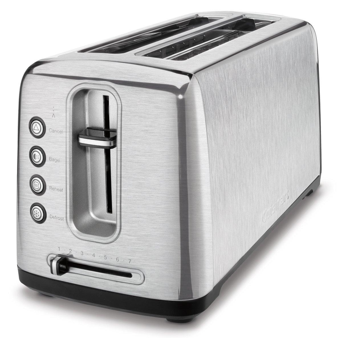 Cuisinart Toaster - 2 Slice - Aluminum - Long Slot