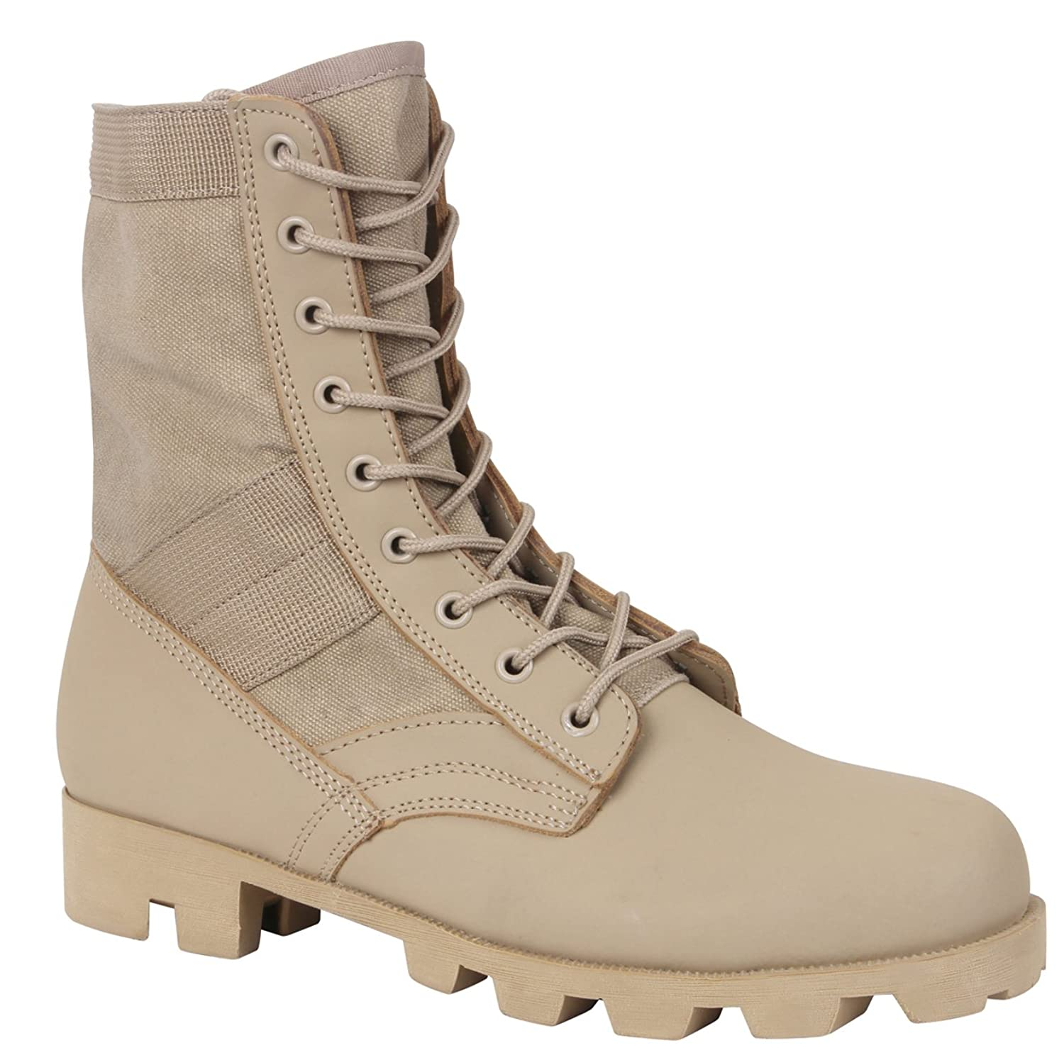 5c3239c7a89 Rothco 5909 Classic Military Jungle Boots - Desert Tan
