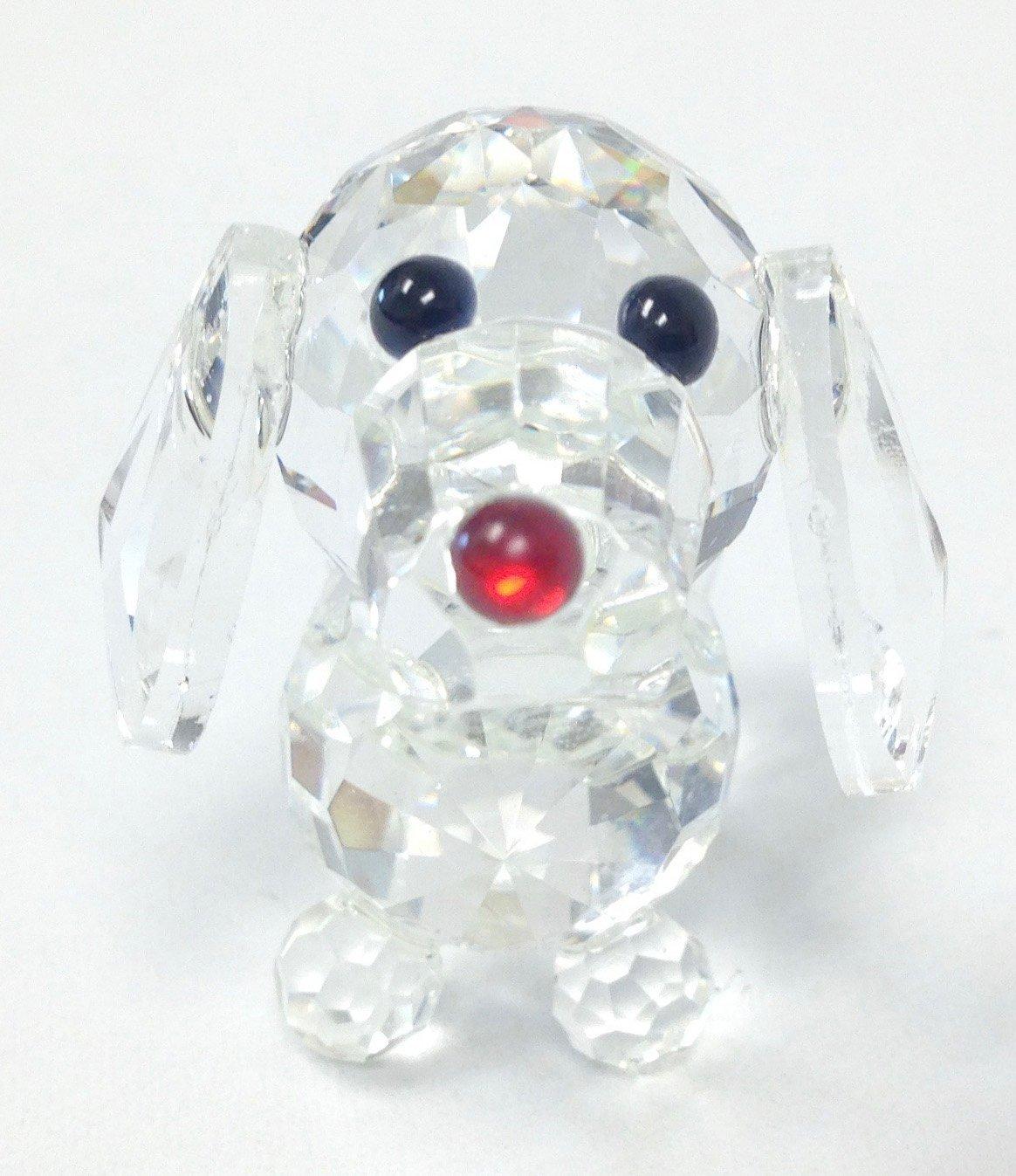 Amlong Crystal Figurine Collection Crystal Dog Collectible