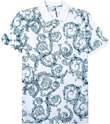 Versace Collection Estampado de patrón Barroco Camisa ...