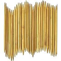 SYGA 15 Sizes(75picks) 8 inch(20CM) Double Pointed Bamboo Knitting Needle