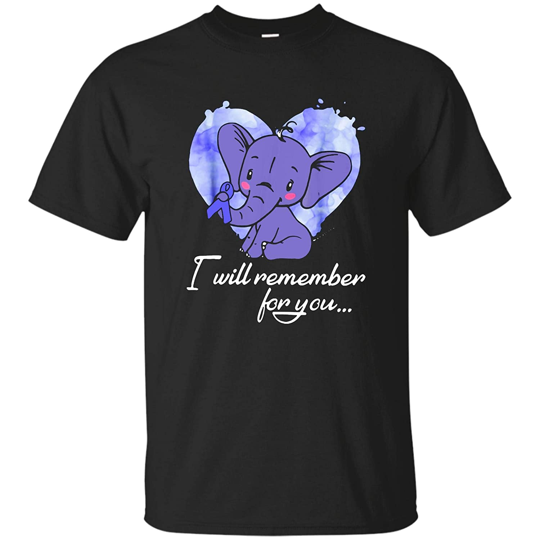 Uniwyn I Will Remember You Pulmonary Hypertension Awareness Shirts