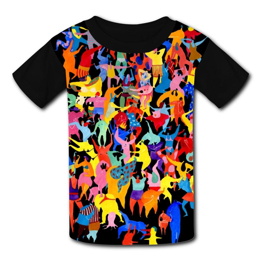WABAODAN Soulfly Toddler Soft Short Sleeve T-Shirt Black