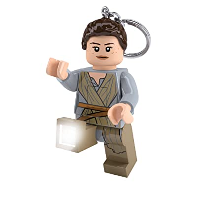 IQ Lego Star Wars - Rey LED Key Chain Light: Toys & Games