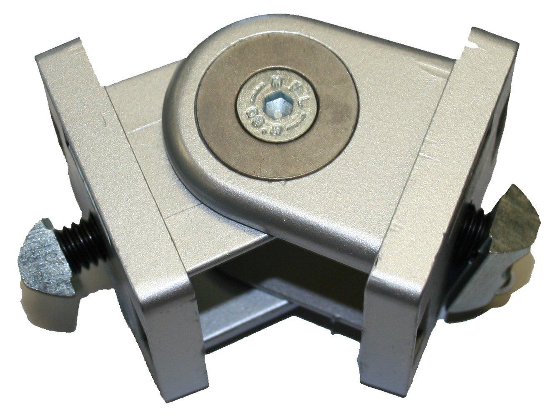 Faztek 15 Series Steel Heavy Duty Pivot Hinge without Locking Handle, 1-1/2'' Length x 1-1/2'' Width x 2-1/2'' Height