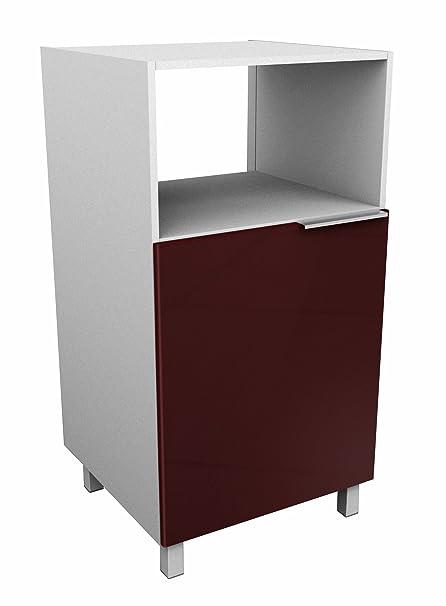Berlioz Creations - Mueble para microondas, Otros, Burdeos ...