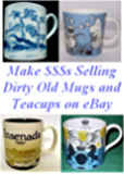 Make $$$s Selling Dirty Old Mugs and Teacups on eBay