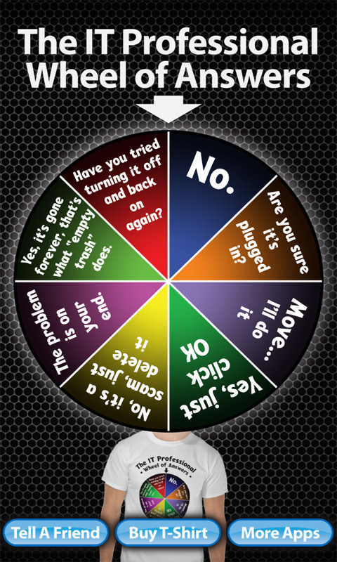 Amazon.com: IT Professional Wheel Of Answers: Appstore for ...