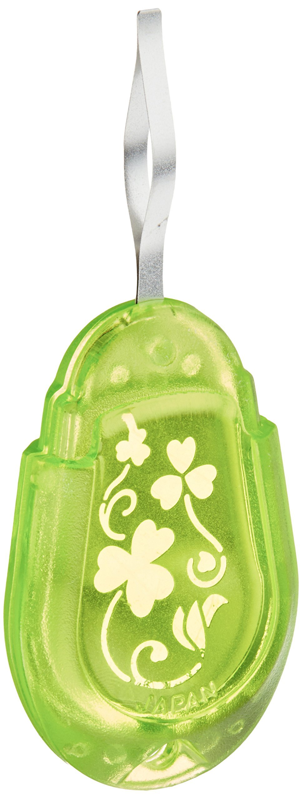 Clover 8611 Needle Threader For Embroidery Needles-Apple Green product image