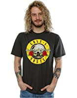 Guns N Roses Herren Bullet Logo T-Shirt