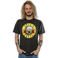 Guns N Roses Hombres Bullet Logo Camiseta