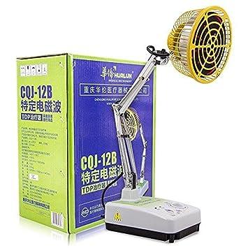 Lámpara de calor de sobremesa Terapia mineral electromagnética física Aparato de luz para alivio del dolor 250W TDP: Amazon.es: Salud y cuidado personal