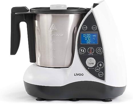 Domoclip dop142 W Robot culinario calefacción blanco 1500 W: Amazon.es: Hogar