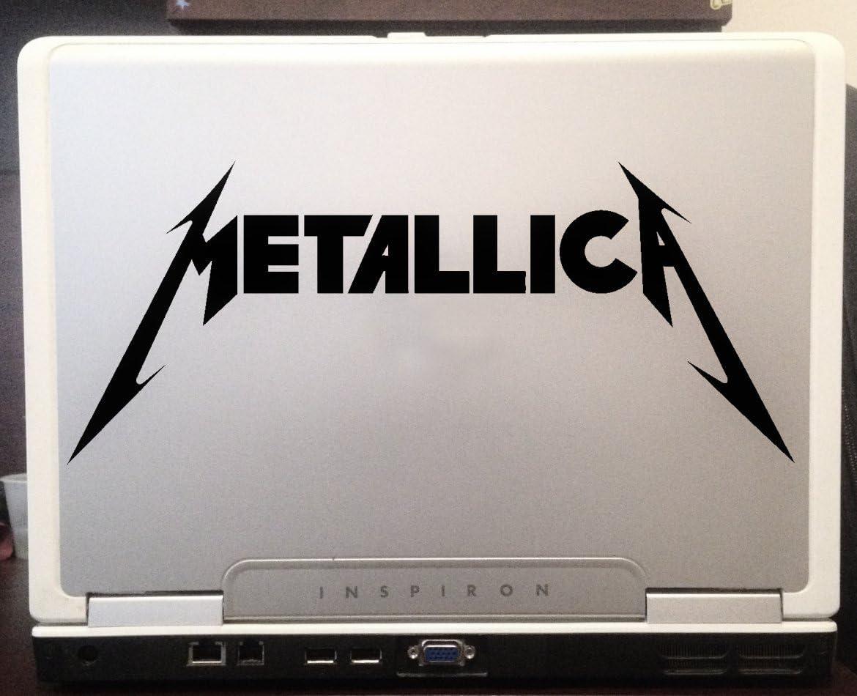 Metallica vinyl car sticker decal laptop window motorbike
